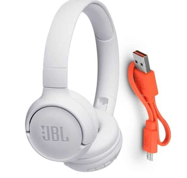 Headphone Jbl T500bt Bluetooth Branco